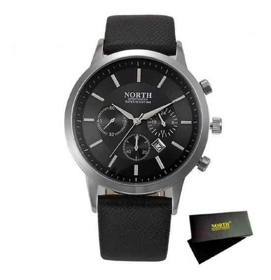 Relógio Masculino North N0001 Modelo Importado Com Caixa