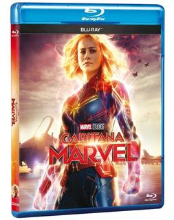 Película Bluray Capitana Marvel