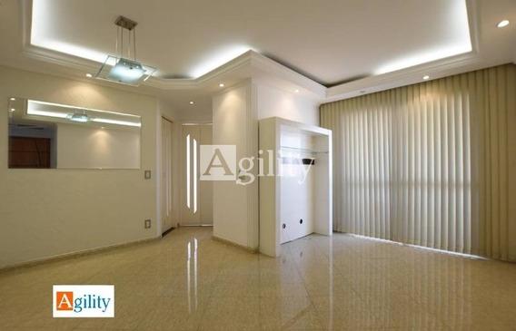 Apartamento Em Condomínio Padrão Para Venda No Bairro Alto Da Mooca- 2 Dorm, 1 Vaga, 55 M - 7198