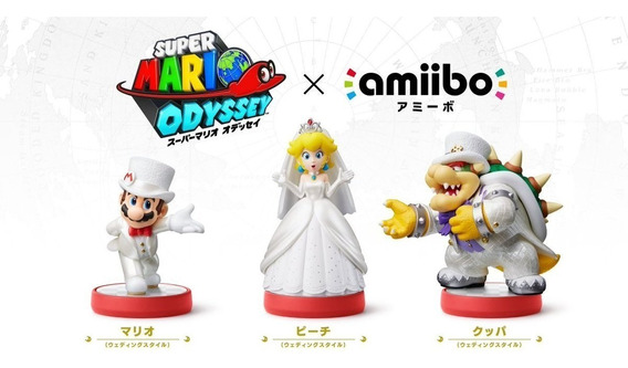 Amiibos Super Mario Odyssey - 4 Cards - Pronta Entrega