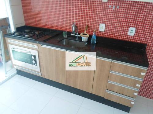 Apartamento Com 2 Dormitórios Para Alugar, 50 M² Por R$ 1.350,00/mês - Vila Carrão - São Paulo/sp - Ap0165