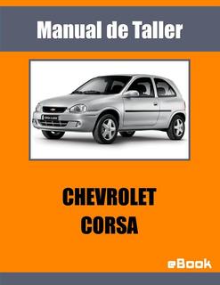 Manual Taller Mecanica Automotriz - Chevrolet Corsa Español
