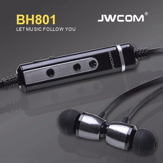 Fone De Ouvido Sem Fio Bluetooth Wireless Esportivo Bh-801