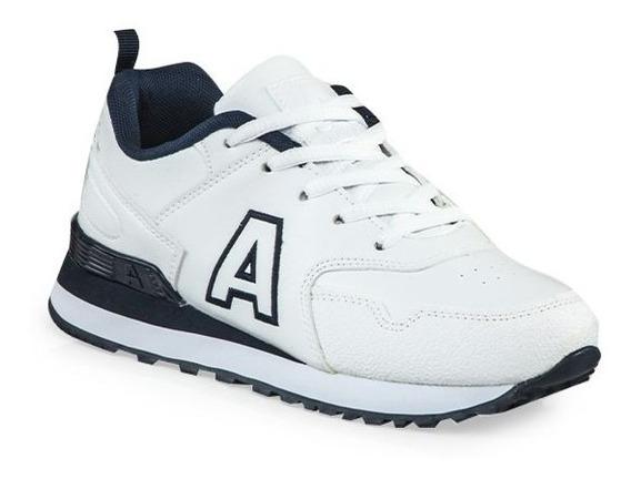 Zapatillas Addnice Running Bco/azul Escolar ¡¡envío Gratis!!