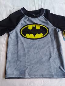 Blusa Proteção Solar Uva Infantil Batman Original Importada