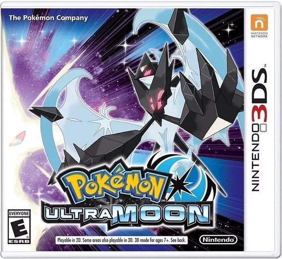 Pokémon Ultra Moon - Mídia Física Lacrado - 3ds