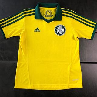 Camisa Palmeiras 2013-2014 Pátria Amada Tam 9-10 Infantil