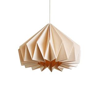 Brownfolds Papel Origami Lámpara Sombra