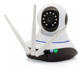 Câmera Wifi Ip Kp-ca127 Ípega Hd Visão Noturna 3 Antenas