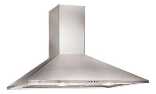 Extractor cocina Whirlpool WAI62 ac. inox. de pared 49cm x 60cm inoxidable