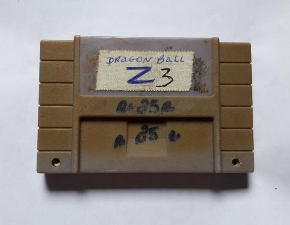 Dragon Ball Z Super Butouden 3 Luta Super Nintendo Snes