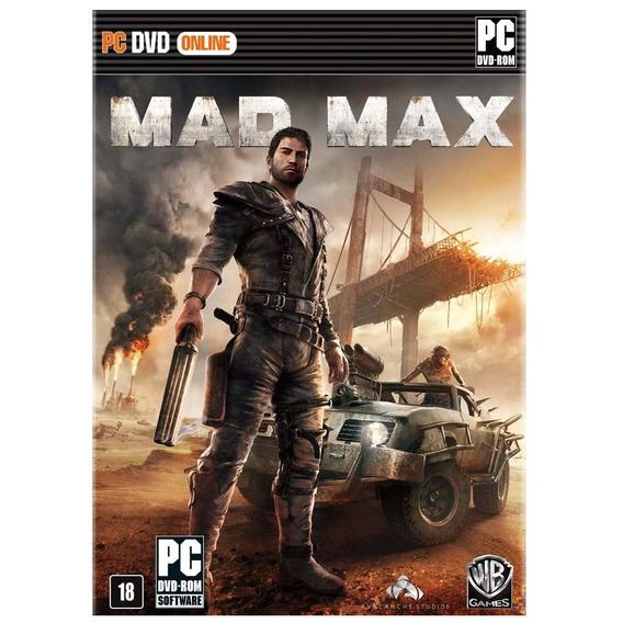 Game Pc Mad Max - Original - Novo - Lacrado