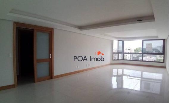 Apartamento 3 Dormitórios Para Alugar, 145 M² Por R$ 3.500/mês - Tristeza - Porto Alegre/rs - Ap2841