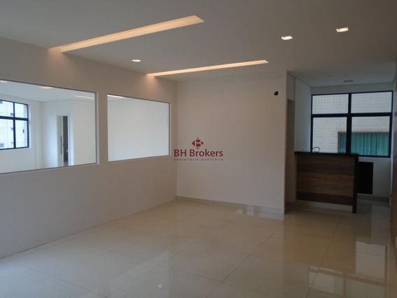 Conjunto De Salas Comercial Para Alugar, 71,62 M² Por R$ 3.000,00 - 19150