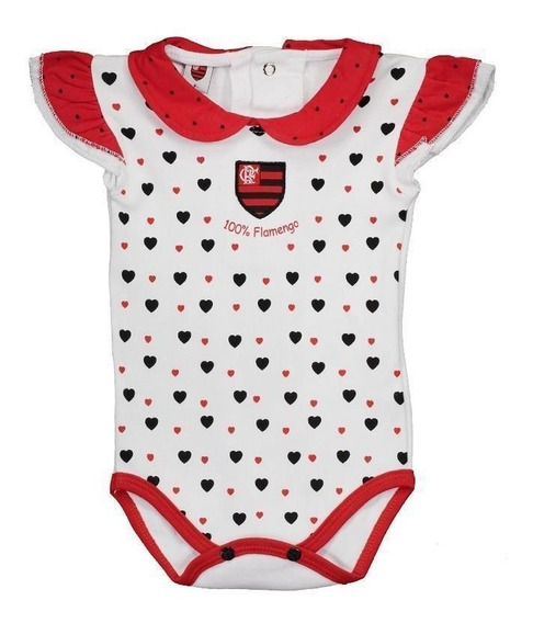 Body Flamengo Feminino