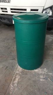 Pipotes Plásticos 200 Litros Para Agua Ó Químicos Con Tapa