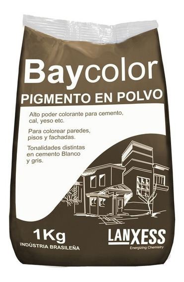 Baycolor Pigmento Colorante En Polvo Marrón