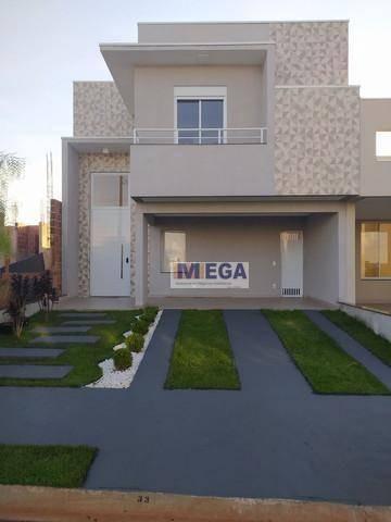 Casa Com 3 Dormitórios À Venda, 156 M² Por R$ 858.600,00 - Vila Monte Alegre Iv - Paulínia/sp - Ca2296