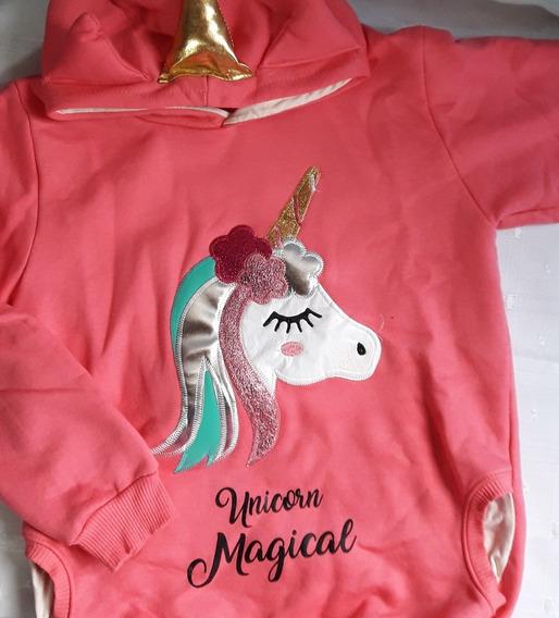 Buzo De Friza Unicornio