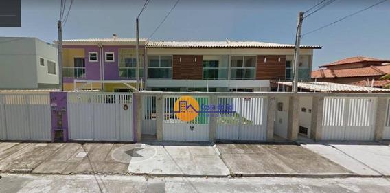 Casa Com 3 Dormitórios À Venda, 127 M² Por R$ 420.000 - Lagoa - Macaé/rj - Ca1739