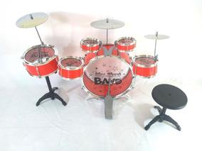 Bateria Infantil - 6 Tambores 3 Pratos Jazz Drum Promoção