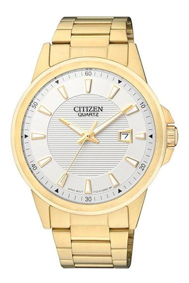 Relógio Citizen Masculino Social Tz20331h Bl1012 Dourado