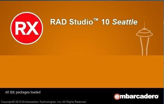Embarcadero Rad Studio 10 Seattle Delphi Update 1 Atualizado