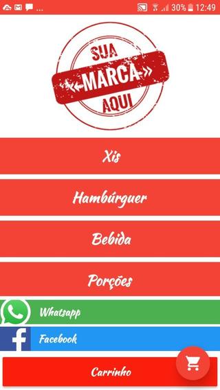 Aplicativo Delivery Para Hamburguerias, Lancherias Em Geral