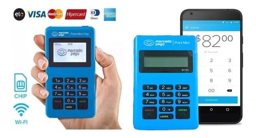 Point Mini Chip + Point Mini Maquina Mercado Pago Wi-fi Kit