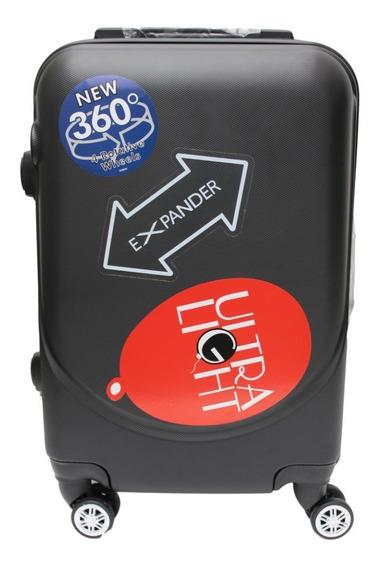 Maleta Rigida Mano A Bordo Candado Seguridad Carry On 360 Policarbonato Para Viajes Envio Gratis
