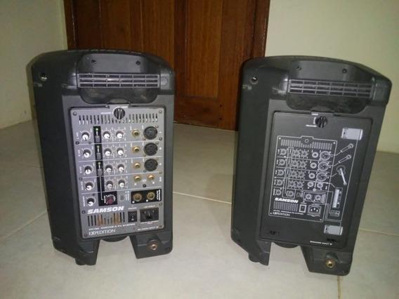 Samson Xp-150 Sistema Portatil Pa Com Mixer