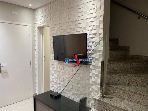 Imagem 1 de 30 de Sobrado Com 3 Dormitórios À Venda, 128 M² Por R$ 650.000,00 - Chácara Mafalda - São Paulo/sp - So1257