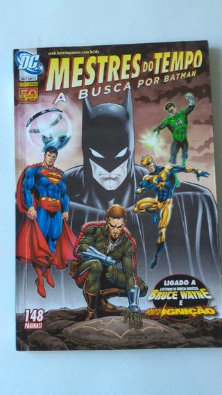 Mestres Do Tempo A Busca Por Batman Dc Gibi Qaudrinhos Hq