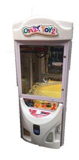 Arcade Grúa Crazy Toy 2 Con Billetero