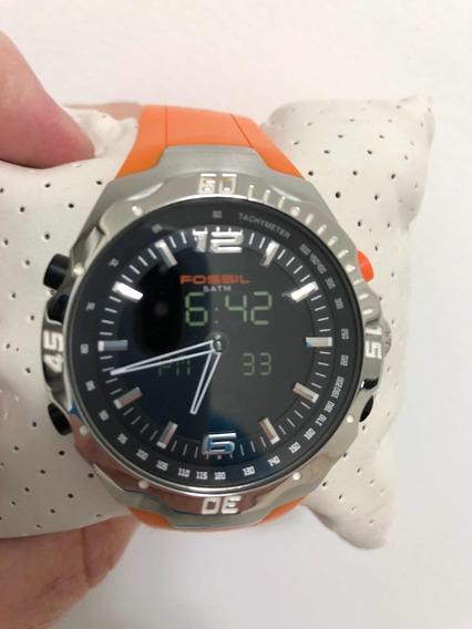 Relógio Fóssil Comprado Em Miami Pouco Uso ! Mega Barato