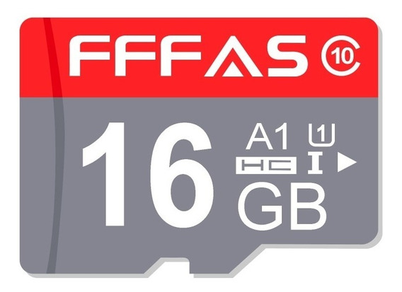 Micro Sd 16gb Fffas Cartão Memória Classe 10 Ultra 80mbs New