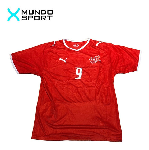 Camiseta De Suiza Titular Puma 9 Frei Talle L