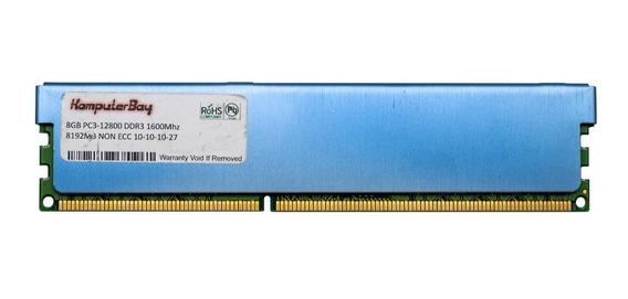 Memória Ram 8gb Pc3-12800 Ddr3 1600mhz Komputer Bay