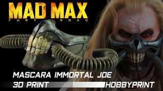 Mascara Immortal Joe Madmax (3d Print)