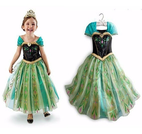 Fantasia - Vestido Infantil - Anna - Frozen