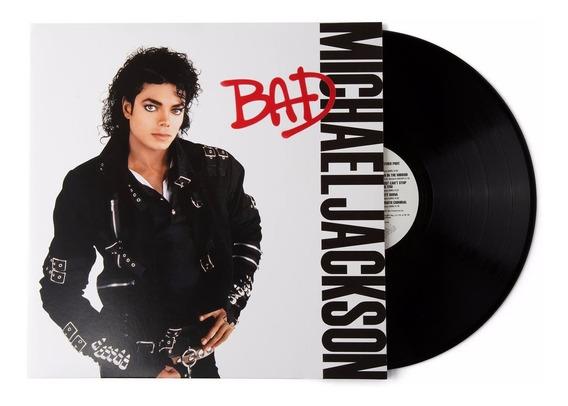 Michael Jackson Bad Vinilo Importado Lp Nuevo Cerrado
