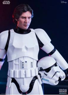 Han Solo Stormtrooper Star Wars Iron Studios, Figura Única!!