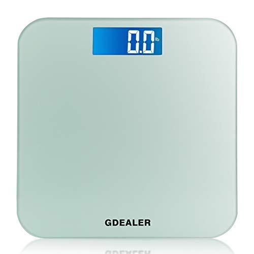 Gdealer Cuerpo Escala 400lb180kg Báscula De Baño Digital D