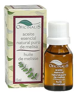 Aceite Esencial De Melisa Promueve El Sueño Reparador X 15ml