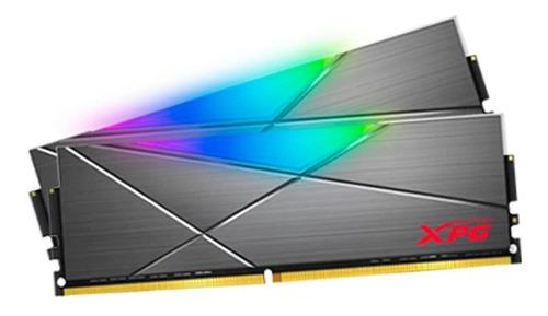 Memória Ram Spectrix D50 Color Tungsten Grey  16gb 2x8gb Xpg