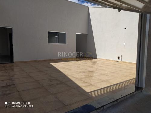 Imagem 1 de 9 de Casa Padrão Em Franca - Sp - Ca0101_rncr