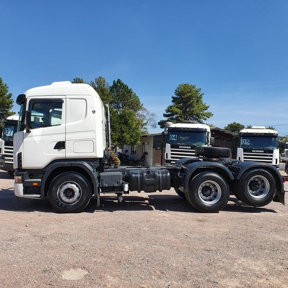 Scania 124 360 Cavalo 6x2 Trucado Unico Dono