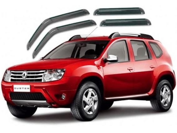 Calha Defletor Chuva Renault Duster 2011 A 2018 4 Portas