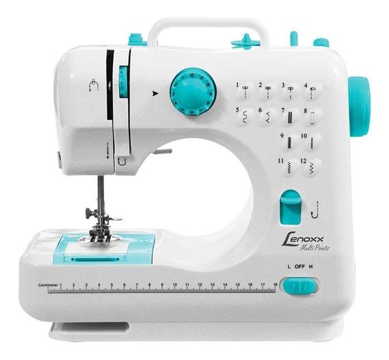 Máquina de costura Lenoxx Multi Points PSM101 Branco 110V/220V (Bivolt)