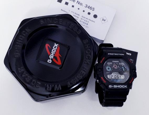 Casio G-shock Dw-5900-1dr Série Prata Reedição Bad Boys Veja